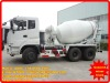 dongfeng 6*4 10,000 liter cement mix truck