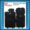600D 4pcs good trolley EVA luggage case