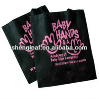Foldable non woven bag with your logo