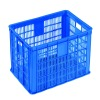 Plastic crate used for fruit vegetable