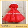 2012 Wholesale Custom Lovely Fashion Rose Flower Girl Dress