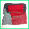 two color voile scarf LC096