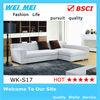 Leather corner sofa (WK-S17#)