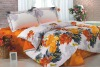 100% cotton twill printed duvet cover sets 4 pcs