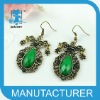 new Leaf water droplets vintage earrings design for women
