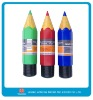 7inch colour pencil with plastic box packing