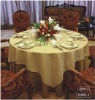 polyester and cotton meeting&wedding western style table cloth