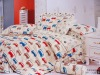 cute comforeter crib 100cotton bedding sets with reactive printing/bed cover