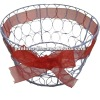 basket with iron wire