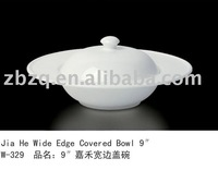 Wide Edge Covered Bowl