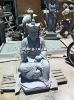 stone statue, granite sculpture