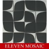 Steel and glass mosaic EMSDT03