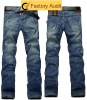 new popular fashion Men's blue jeans pants