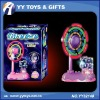 Mini electric toys fan with flashing light & sweet smell