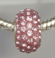 Light Rose Crystal Beads
