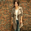 2012 autumn outfit new contracted and fashionable female dust coat