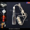promotion led necklace in bottle