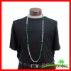 St. Patrick's Day 8mm Beads Green & White Sections