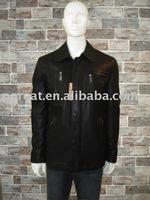 long pu jacket
