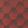 hexagonal bitumen shingle