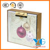 Soft Focus Baubles Christmas Boxed Cards Glitter Greeting Cards