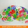Round PVC table mat in full color printing