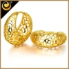 2012 newest brass jewelry set 18k gold plated african wholesale settings cheap