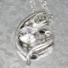 Charm jewelry CZ stone pendant 2012