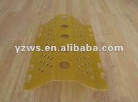 FRP flexible wind or dust nets