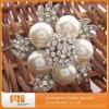 2012 hot sale fashion charming pearl rhinestone brooch
