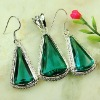 Crystal handmade jewelry wholesale jewelry set green Amethyst prasiolite