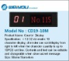 widows display of queue system management---CD19-10M
