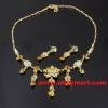 rhinestone necklace set 1201000017