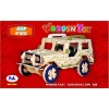 Wooden toy JEEP toy