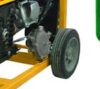 LPG gasoline (petrol) generator set