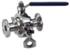 Sanitation Zero-Retention Ball Valve
