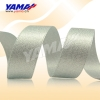 fashion ribbon , silver metallic ribbon
