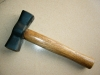 French type stoning hammer