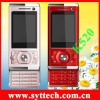 SK520+magic voice mobile phone with dual camera,fashion slider design,TV