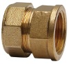 female compression coupling   pipe fitting