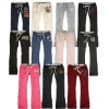 Abercrombie Fitch  09 New Women's low-waist thick fluffy Slim trousers / Sports Pants / Yoga Pants WK-1 free shipping (10pcs/lot