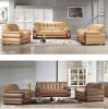 Top real leather sofa