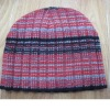 100% Jacquard knitted hat