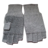 jacquard knitted mitt with lining