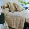fly-b004 jacquard bamboo bedding  set/cushion/pillow/bedsheet/