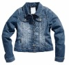 Women denim clothing
