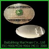 Silver John Deere fashion belt buckle, hip hop belt buckle