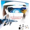Perfect AV 3D glasses/ video eyewear display with 3d feature