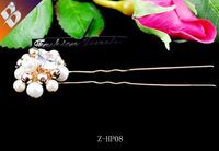 Elegant pricess beads hair pins