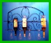 Furniture metal wine rack